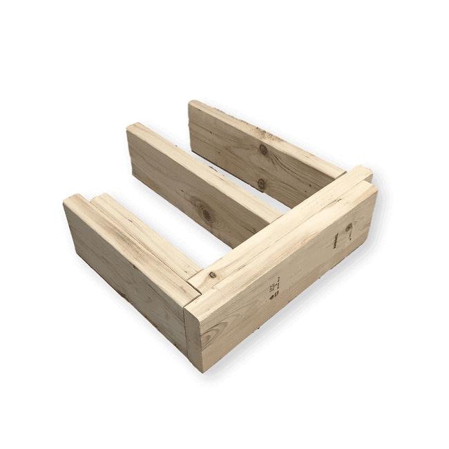 Balcon Et Structure En Acier Sublimant Votre Extérieur: STRUCTURE BOIS NATUREL : Balcon Depot