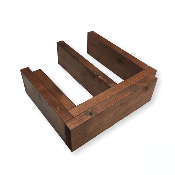 structure de bois traité