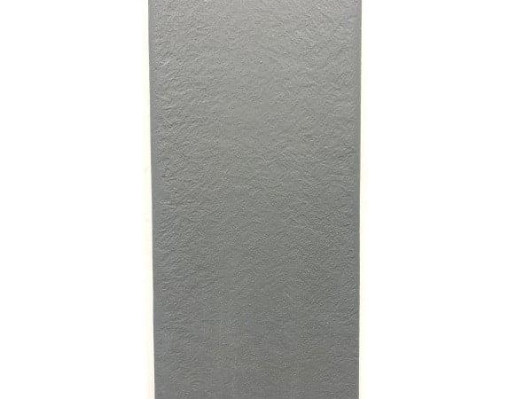 Balcon fibre de verre - Charbon uni