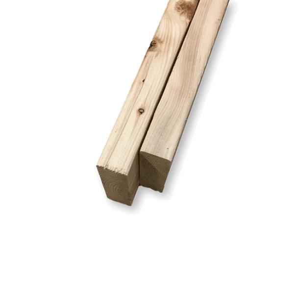 poutre de bois non-traité