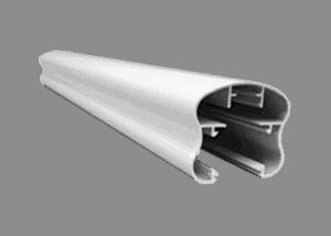 Main courante de rampe en aluminium