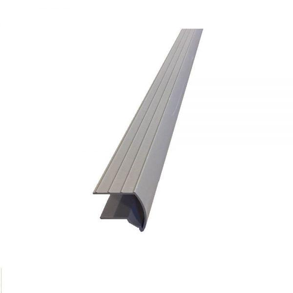 larmier balcon aluminium beige